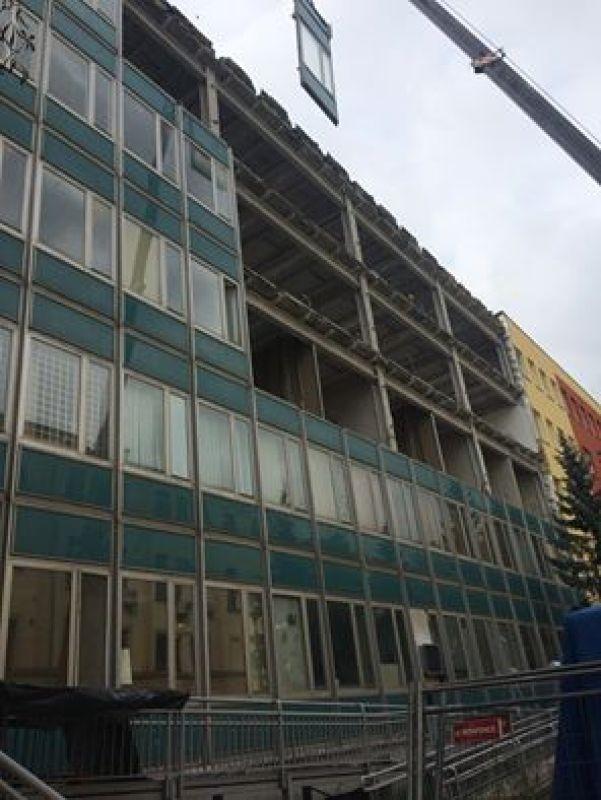 Galeria Demontaż azbestu w budynku typu Lipsk w Olsztynie