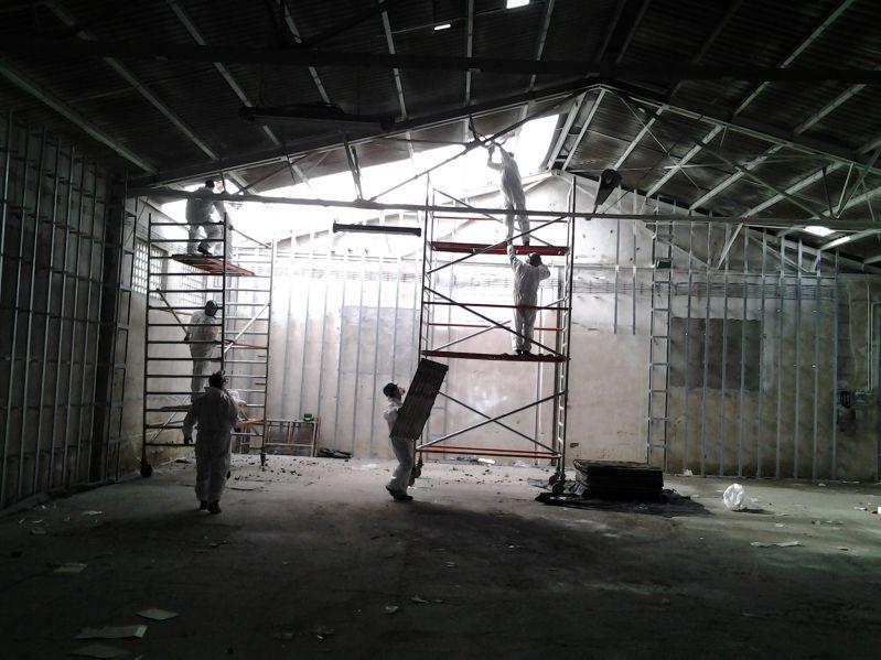 Galeria Demontaż materiałów zawierających azbest Gdańsk