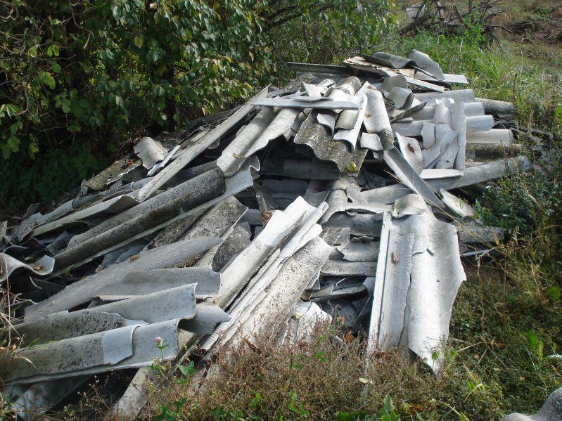 Galeria Likwidacja dzikich wysypisk azbestowych Szczecin