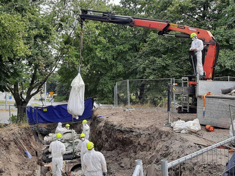 Galeria Demontaż rur azbestowych Gdańsk