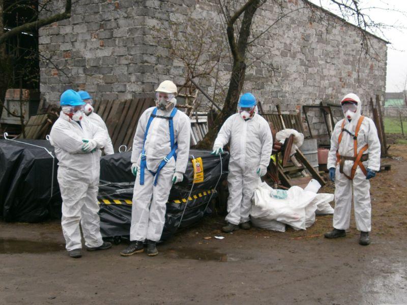Galeria Demontaż materiałów azbestowych Gdańsk