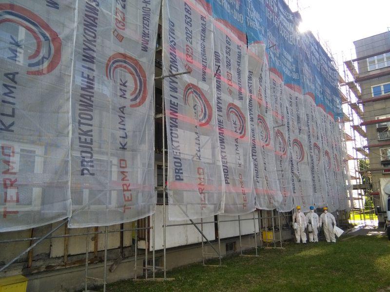 Galeria Usuwanie materiałów zawierających azbest Szczecin